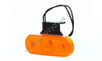 Lampa poziční LED oranžová s držákem WAS 229Z(17939)