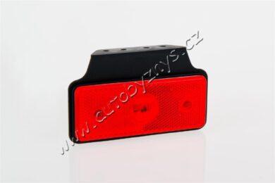 Lampa poziční LED červená s držákem FRISTOM MD-013(17947)