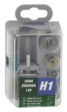 Žárovky servisní box univerzální H1 GREEN(08532)
