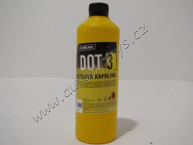 Brzdová kapalina DOT3 0,5L CARLINE(12472)