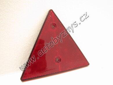 Trojúhelník odrazka na vozík(1259)