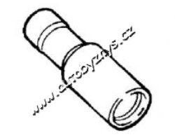 Objímka kruhová izolační žlutá 5x2,5-6