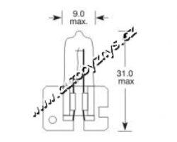 Žárovka 12V H2 100W ELTA-SLEVA 48%