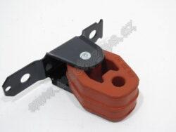 Držák výfuku FABIA zadní díl 1.0/1.2/1.4; 6Q0253144G-FABIA 00-04 pro mot.1.0/1.4 44/50kw/1.2 40/47kw/1.4 16V 55kw BKY,BBY/brFABIA 05-08 pro motory 1.2 40/47kw do roku výroby 6Y-64522 417/br1.9D 74kw AXR od roku výroby 6Y-64522 418/br1.4D 51/55/59kw/brFABIA II 07- pro motory 1.4 63kw BXV/1.4D 51/59kw/1.9D 77kw