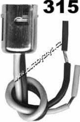 Objímka žárovky BaY15d