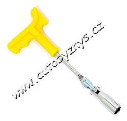 Klíč na svíčky 16mm s rukojetí ERGO 09403