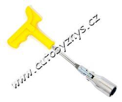Klíč na svíčky 21mm s rukojetí ERGO 09404
