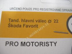 Sada gumiček 1010 ŠKODA ; 199010100