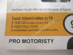 Sada gumiček 1009 ŠKODA ; 199010090