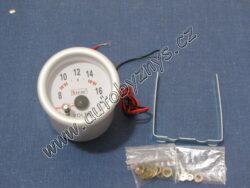 Palubní přístroj - voltmetr 7 color 33218