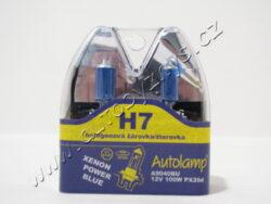 Žárovka 12V H7 100W Px26d Xenon Blue-sada 2ks AUTOLAMP
