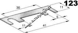 Pojistka plíšková 11x41mm 80A