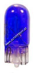 NARVA Žárovka 12V 3W W2,1x9,5d modrá 17097modrá