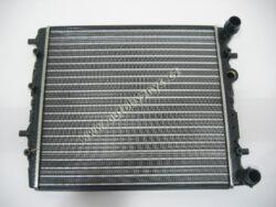 Chladič FABIA 1.0/1.4 bez klimatizace CN 430x414mm ; 6Q0121253AG ; 6Q0121253J-MODELY viz.č.7099  6Q0121253AG          6Q0121253AE          6Q0121253J
