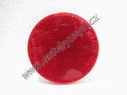 Odrazka samolepící průměr 80mm červená 4021009