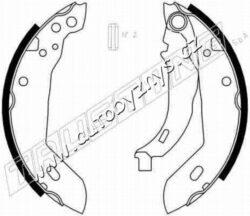 Brzdové čelisti Citroen,Peugeot 180x32 TRUSTING-průměr v mm: 180 Sirka v mm: 32 montovací strana: zadní náprava Doplnkovy vyrobek/ doplnkove info: s pákou brzdovy system: LUCAS