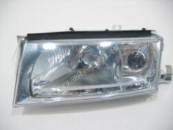 Světlomet přední levý OCTAVIA 01- s mlhovkou a motorkem +žárovky CN ; 1U1941017P-OCT 01-08