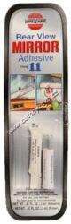 Lepidlo na instalaci držáku zpětného zrcátka dvousložkové 3ml Versachem-Speciální dvousložkoé lepidlo s vynikající odolností proti vysokému tepelnému namáhání, pnutí a vibracím. Vhodné též na spojení veškerých kovových dílů se skleněnými povrchy u nábytku, v domácnosti atd.
