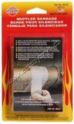 Bandáž na opravu potrubí výfuku s kovovou záplatou - 130x5cm VERSACHEM-Bandáž na opravu potrubí výfuku  Sada na opravu větších otvorů a prasklin na potrubí a tlumiči systému (s kovovou záplatou).  Obsahuje bandáž  ze skleněných vláken 130 cm + záplata z kovové folie. Odolává vysokým teplotám výfukových plynů. Vhodná na opravy katalyzátoru. Typ 153   Bandáž  130 cm x  5 cm