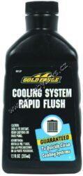 Čistící přípravek chladící soustavy-Cooling System Rapid Flush 355ml Gold Eagle-Čistící prostředek chladící soustavy. Prvotřídní přísada na čištění chladící soustavy a s ní spojeného topení automobilu. Odstraňuje vodní kámen, rez, mastnotu a veškeré usazeniny z vnitřního povrchu soustavy. Zřetelně vylepšuje účinnost chlazení a topení, vhodný při každé výměně kapaliny v systému. Nepoškozuje kovové ani gumové součásti. Obsah lahve dokáže vyčistit soustavu o objemu až 30l.