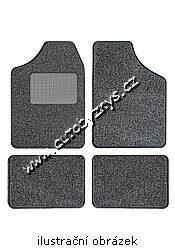 Koberce textilní Octavia -03 černé sada 4ks 04320