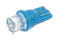 Žárovka 12V T10 1LED modrá