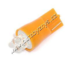 Žárovka 12V T10 4LED oranžová