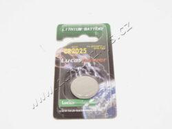 BATERIE lithiová CR 2025 LUCAS
