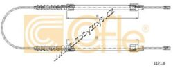 Brzdový lanovod Citroen,Fiat-Délka B (mm)802 Délka A (mm)3025