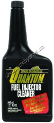 Čistič vstřikovacích trysek BENZÍN - Quantum Fuel Injector Cleaner 360ml-Čistič vstřikovacích trysek BENZÍN. Prvotřídní přísada na čistění palivové soustavy a vstřikovacích trysek benzínových motorů. Nepoškozuje katalyzátor, neobsahuje methanol. Účinně odstraňuje veškeré usazeniny a nečistoty, které způsobují těžké startování, vynechávání a lenost motoru. Snižuje spotřebu paliva a výfukové emise.