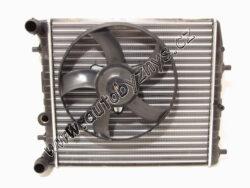 Chladič FABIA/ROOMSTER s větrákem 1.2 -CN ; 6Q0121201HA-MODELY viz č.5169