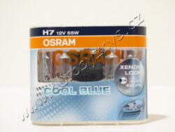 Žárovka 12V H7 55W Px26d CoolBlue modrá sada 2ks  OSRAM