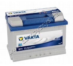 Autobaterie 12V/74Ah 680A VARTA Blue dynamic-TYP BATERIE: Bezúdržbová baterie   TECHNICÉ SPECIFIKACE  VARTA 5740120683132 napeti [V]: 12 kapacita baterie v Ah: 74 startovací proud, test za studena dle EN (v A): 680 razeni polu: 0 druh zásuvky: 1 způsob upevnění, spodní provedení: B13 délka (v mm): 278 Sirka v mm: 175 vyska ( v mm ): 190