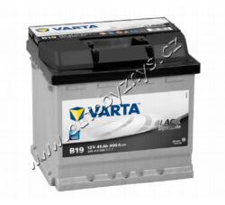 Autobaterie 12V/45Ah 400A VARTA Black dynamic-TYP BATERIE: Bezúdržbová baterie   TECHNICÉ SPECIFIKACE  VARTA 5454120403122 napeti [V]: 12 kapacita baterie v Ah: 45 test za studena dle EN (v A): 400 razeni polu: 0 druh zásuvky: 1 Spodní provedení: B13 délka (v mm): 207 Sirka v mm: 175 vyska ( v mm ): 190