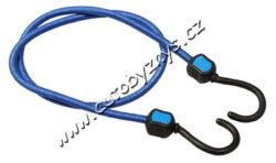 Gumicuk 8mm/100cm HOOK 02217-Klasický elastický popruh s ocelovými poplastovanými háky. 2 x délka 1 m. Jsou určené pro fixaci předmětů. Popruh je tvořen z gumových vláken potažených opletem ze syntetické elastické tkaniny.
