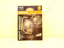 Žárovka 12V H3 NightBreaker Unlimited +110% OSRAM