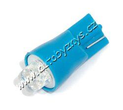Žárovka 12V/4LED T10 modrá 2ks