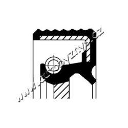 Gufero klikové hřídele vpředu Alfa Romeo,Audi,BMW,Citroen-montovací strana: přední, vepředu Vnitřní průměr 1 [mm]: 50 vnejsi prumer 1 [mm]: 68 vyska 1 ( v mm ): 10 Materiál: FPM (Fluor-Kautschuk) Typ závitu: pravotociva sroubovice protiprachová ochrana: s těsněním proti prachu