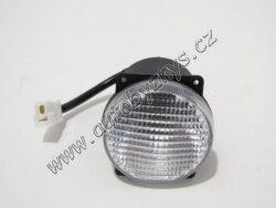 Světlo pro denní svícení kulaté 80mm WESSEM 1ks 998921000A
