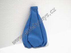 Návlek na řadící páku kožený UNI modrý