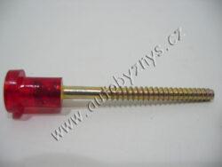 Šroub SPZ dlouhý-červená hlavička