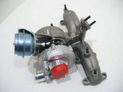 Turbodmychadlo OCT 1.9TDI 66/81kw OE Garret repasované 03G253014RX-Repasovaný díl - výměnným způsobem (nutno vrátit staré turbo) 038253019N 03G253014RX
