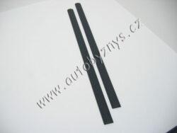 Lišta dveří UNI/FABIA zadní dveře š=4,5cm d=620cm vzor 2A ;