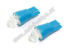 Žárovka 12V T10 SUPER LED modrá 2ks