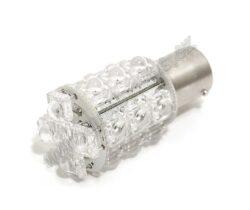 COMPASS Žárovka 12V 20LED Ba15s SUPER LED červená 1ks-SLEVA 50%