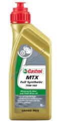 Olej převodový motocyklový CASTROL MTX SYNTHETIC 75W-140 1L-SLEVA 11%