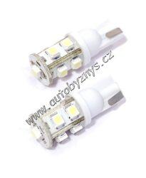 Žárovka 12V 9LED T10 bílá 2ks