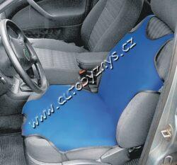 Potah sedadla TRIKO SOFT přední 1ks modrý 31621