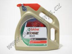 Olej motorový 0W-40 EDGE SPORT CASTROL 4L