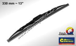 Stěrač kovový TOP Q 330mm GRAFIT 10003